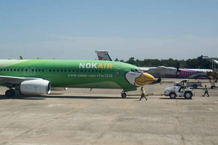 De Bangkok á Nong Khai en avion