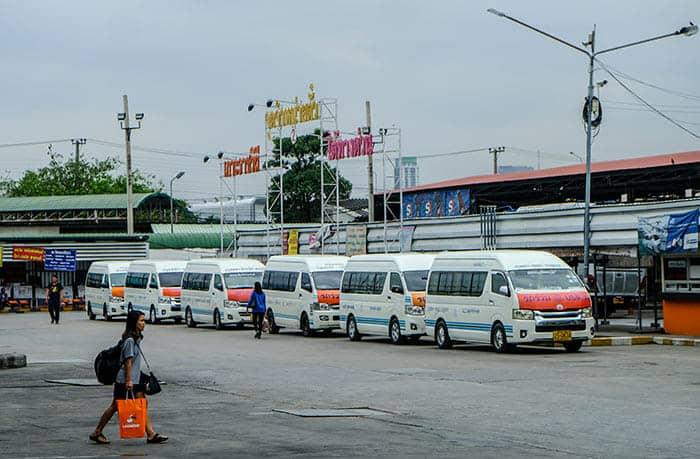 En van de Bangkok à Sukhothaï