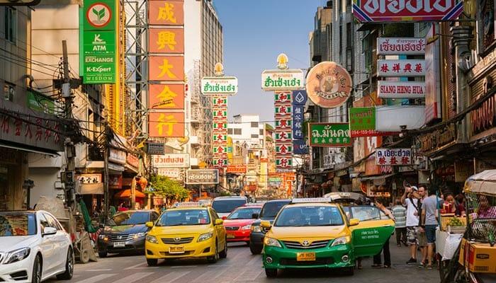 Taxi ou mini-van privé pour aller à Surat Thani