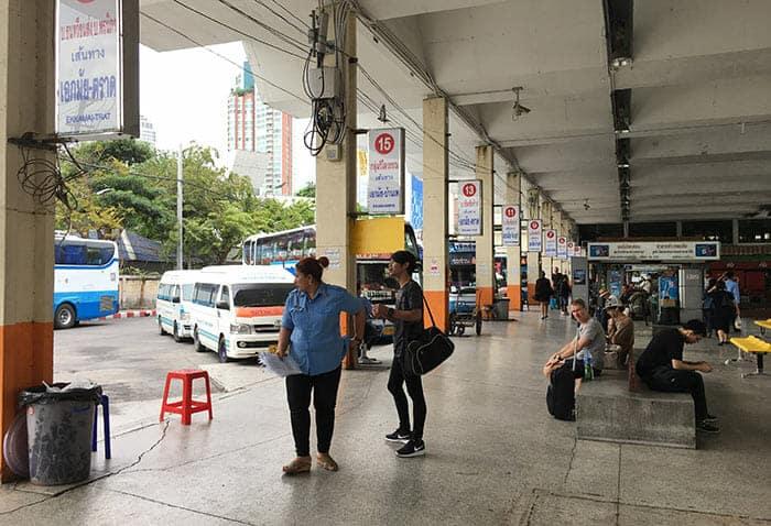 De Bangkok à Trat en Mini-bus ou Van