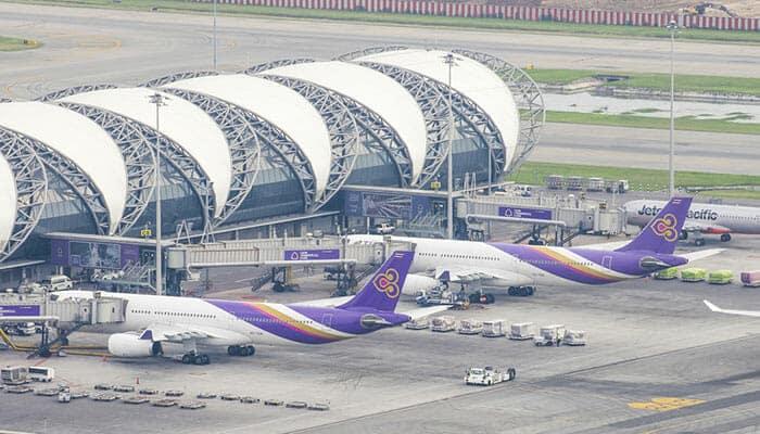 Vols de Bangkok à Vientiane