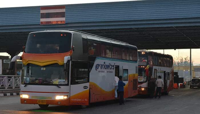 Bus direct de Bangkok à Vientiane