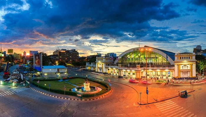 Voyagez en train de Bangkok à Vientiane