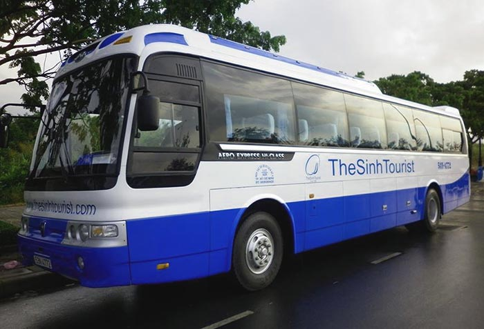 De Ho Chi Minh á Phnom Penh en bus