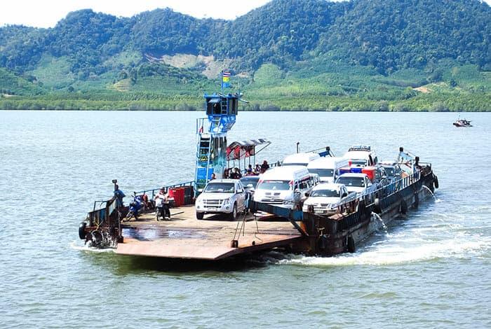Voyager par la route de Krabi à Koh Lanta