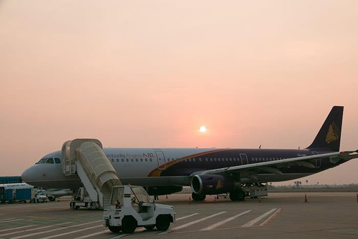 De Phnom Penh à Siem Reap en Avion