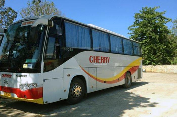 De Puerto Princesa á El Nido en Bus