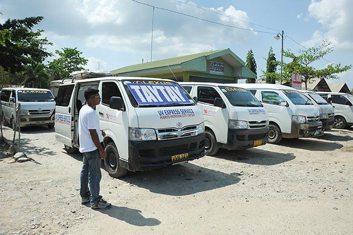 De Puerto Princesa á El Nido en Van