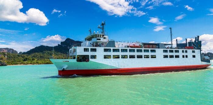 De Surat Thani á Koh Phangan en Seatran Disocvery Ferry