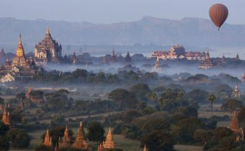 De Yangon á Bagan
