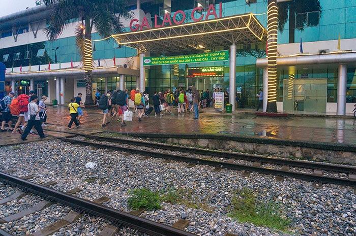 Prenez le train de Hanoï à Sapa