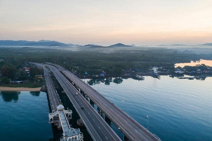Voyage de Chiang Mai á Phuket