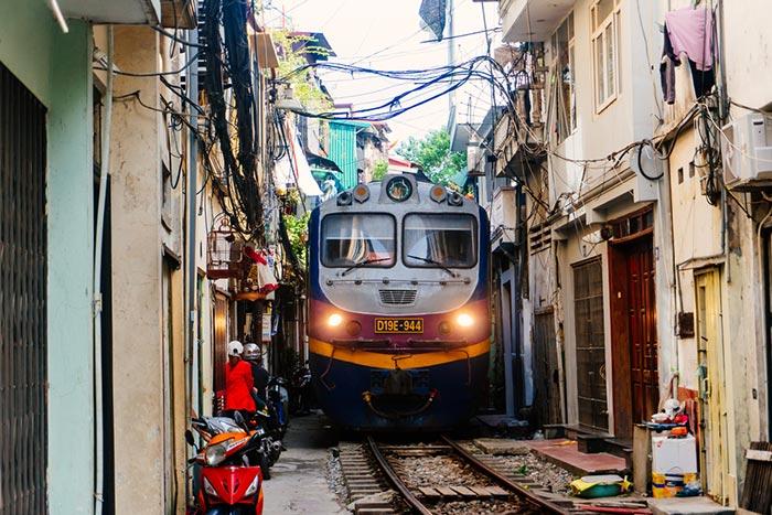 Voyage de Hanoi á Hue