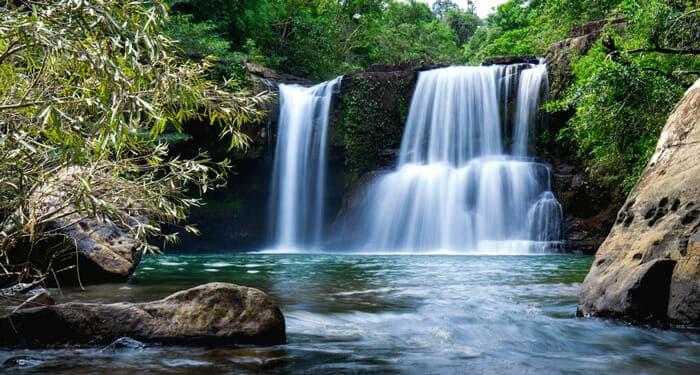 Cascade Klong Chao à Koh Kood