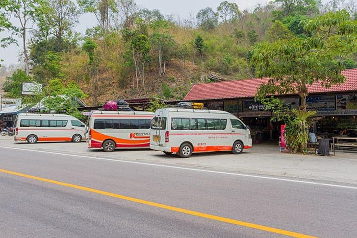 De Chiang Mai à Pai en mini-van