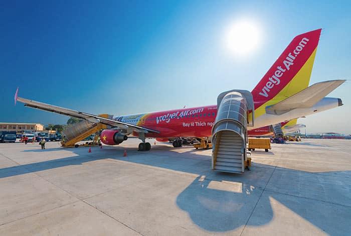 De Hanoï à Ho Chi Minh en Avion
