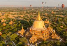 De Mandalay á Bagan