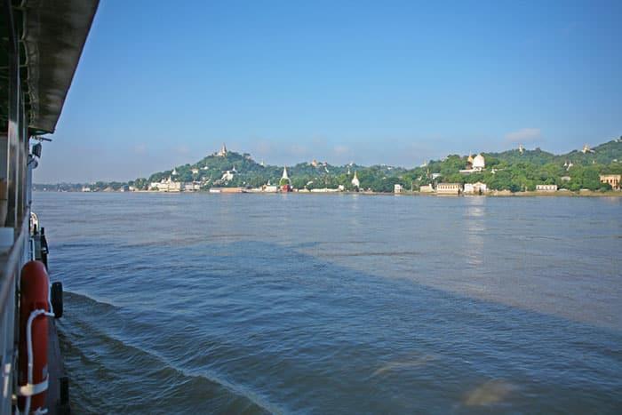 De Mandalay á Bagan en Bateau