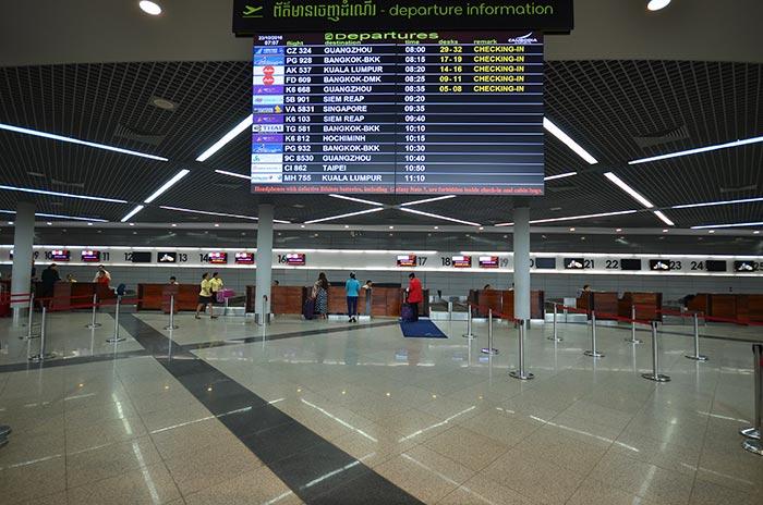 De Phnom Penh à Sihanoukville en Avion