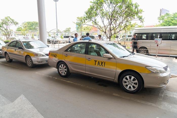 De Phnom Penh à Sihanoukville en Taxi