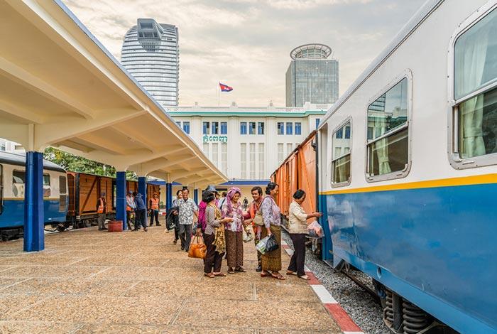 De Phnom Penh à Sihanoukville en Train