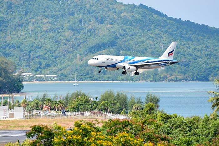 Vols de Phuket à Koh Tao