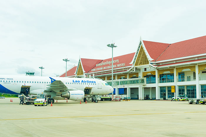 Vols de Vientiane à Luang Prabang