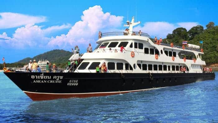 De Phuket à Koh Lanta en ferry