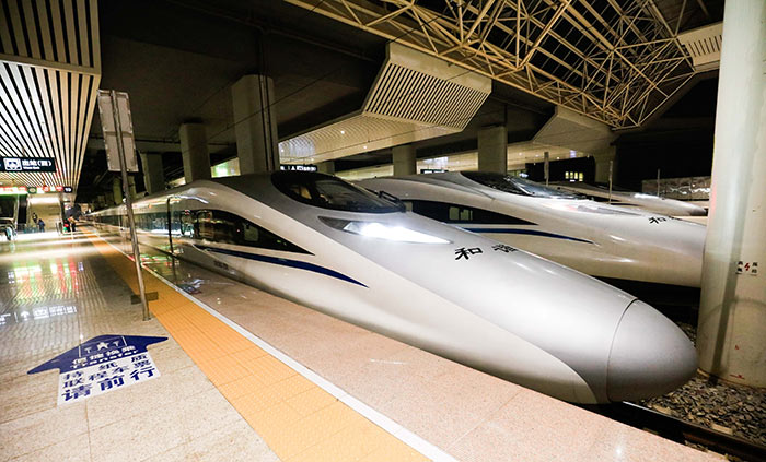 De Pékin à Shanghai en train grande vitesse catégorie G