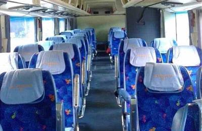 Un siège dans un bus Express