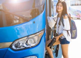 Voyager en bus en Thaïlande