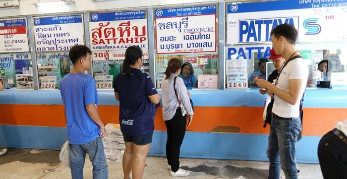 Où acheter des tickets de bus en Thaïlande