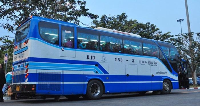 Les bus express en Thaïlande