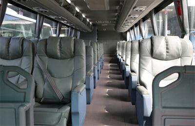 Un siège dans un bus VIP en Thaïlande