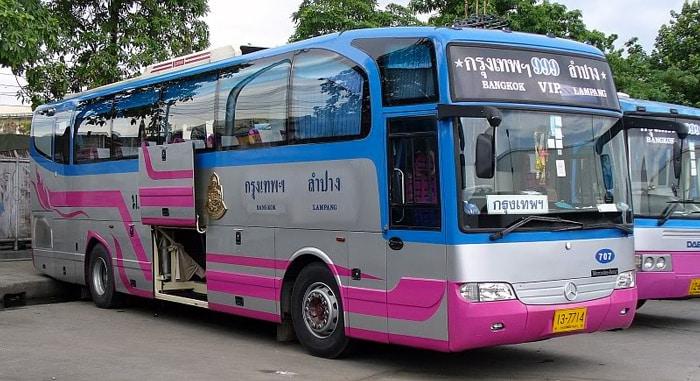 Les bus VIP en Thaïlande