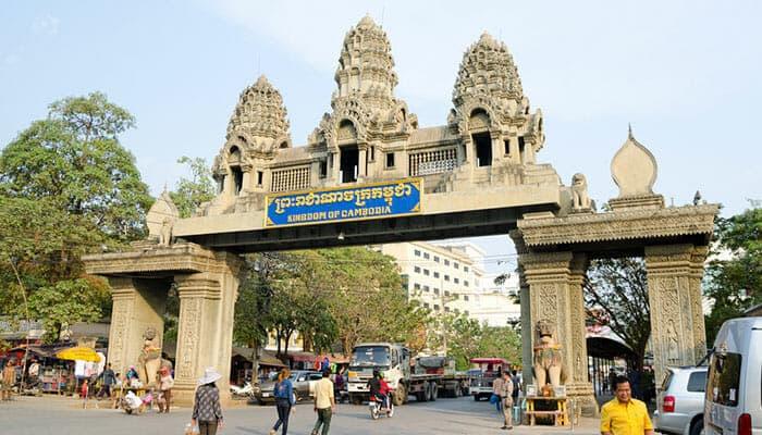 De Bangkok au Cambodge en bus
