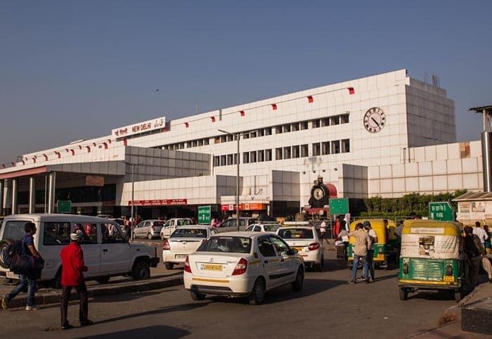 De Delhi à Jaipur en train