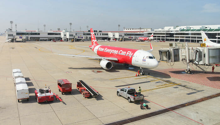 Vols de Bangkok au Cambodge