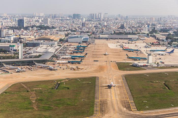 En avion de Ho Chi Minh à Siem Reap