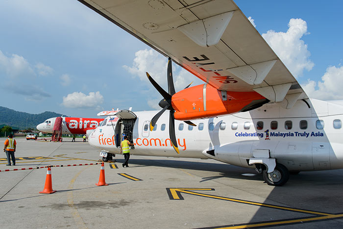 De Penang à Langkawi en avion