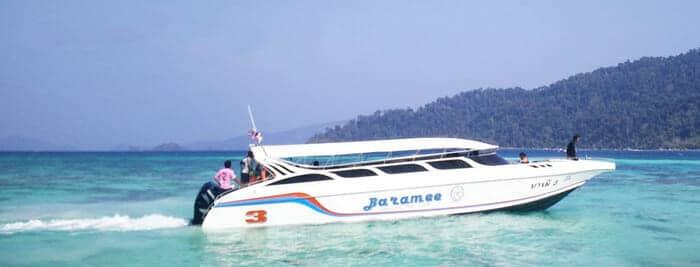 De Krabi à Koh Lipe par le quai Pakbara