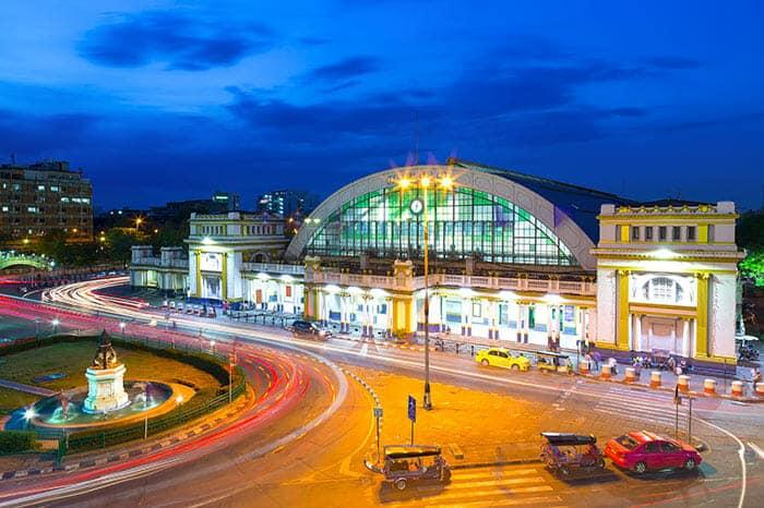 De Bangkok à Prachuap Khiri Khan en train