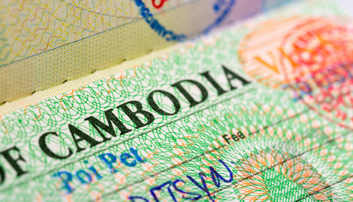 Informations concernant les visas pour le Cambodge