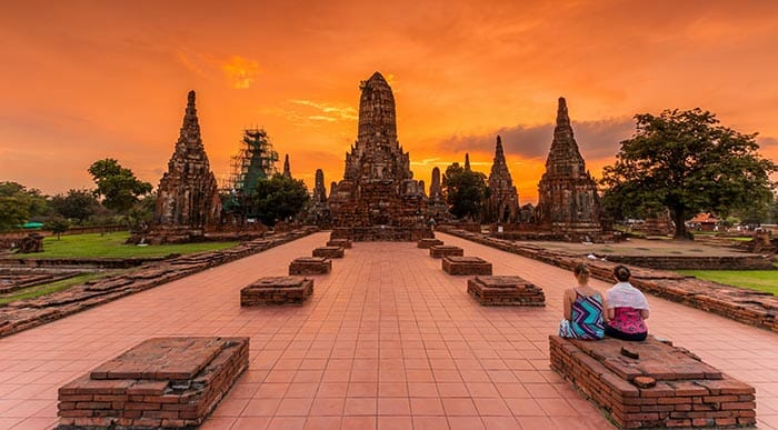 Ayutthaya et ses temples incroyables