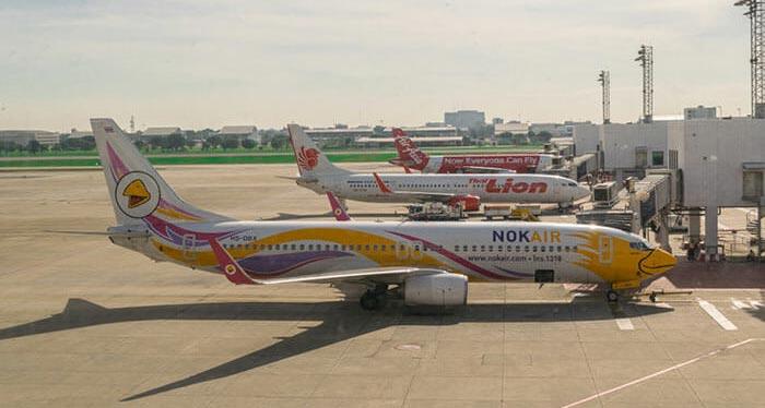 De Bangkok à Chiang Rai en avion