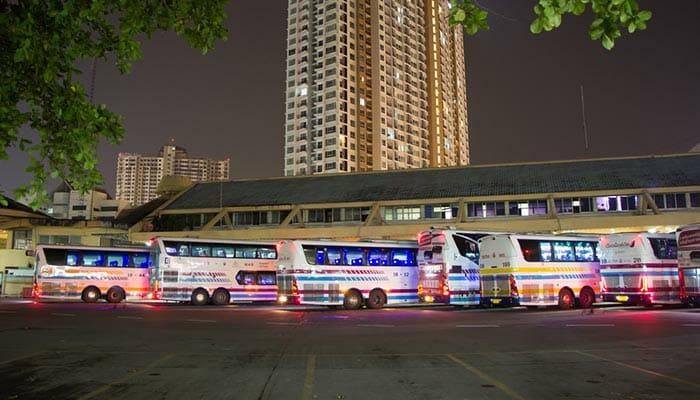 De Chiang Mai à Bangkok en bus