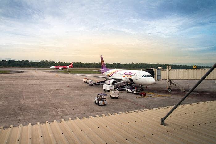 Vols de Bangkok à Hat Yai