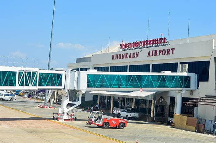 Vols de Bangkok à Khon Kaen