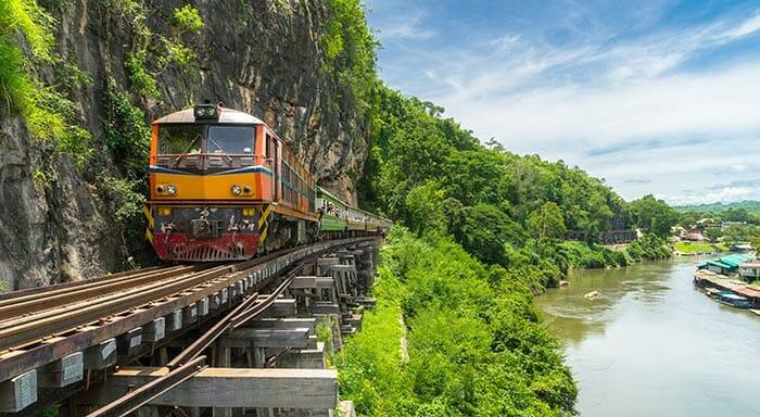 Est-il sécurisé de voyager en train en Thaïlande ?