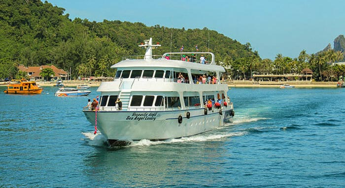 De Koh Phi Phi à Koh Lanta en ferry